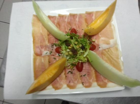 jambon melon (en saison)
